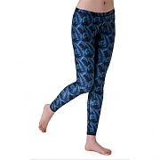 ALL OVER WATER LEGGINGS-D/LEAF