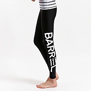VENICE BIG LOGO WATER LEGGINGS-BLACK