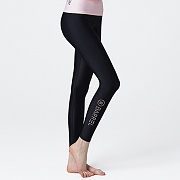 VENICE WATER LEGGINGS-BLK-WHITE