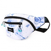 BARREL WAIST BAG 4L-BLUE TONE