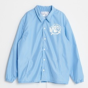 ROSE COACH JACKET-SKY BLUE