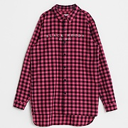 FLANNEL CHECK SHIRTS-RED