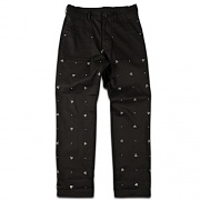 NC TWILL PANTS-BLACK