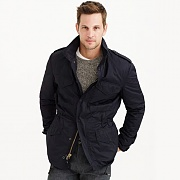 M-65 SLIM FIT FIELD COAT-BLACK*