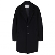 JOHANSSON OVERSIZED COAT WOMAN-BLACK