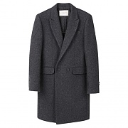 MARKUS DOUBLE COAT-CHARCOAL