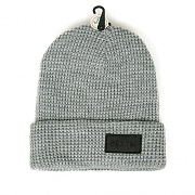 RIFT BEANIE-LIGHT HEATHER GREY/BLACK