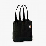 NORTH SOUTH TOTE-BLK