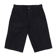(B372)M TWILL CELL PHONE WORK SHORT-BLK
