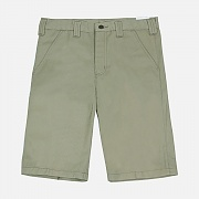 (B372)M TWILL CELL PHONE WORK SHORT-KHI