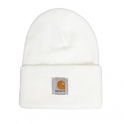 (A18) ACRYLIC WATCH HAT-WHT