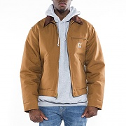 (J001)M DUCK DETROIT JACKET_BRN