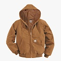 (J131) DUCK ACTIVE JACKET (THERMAL LINED)-BRN