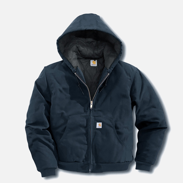 (J140) DUCK ACTIVE JACKET (QUILTED-FLANNEL LINED)-DNY
