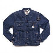 (J292)M SHERPA LINED DENIM JEAN JACKET-ABL