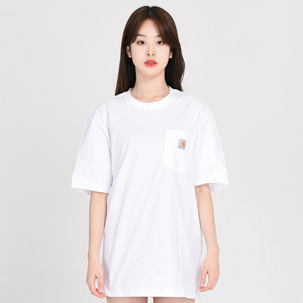 (K87) 포켓반팔티 POCKET WRK T-SHIRT-WHT