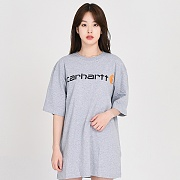 (K195) 로고반팔티 GRAPHIC T-SHIRT-HGY