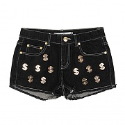 CASH FLOW DENIM SHORT-BLK