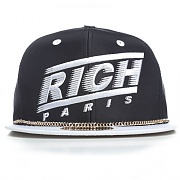 RICH PARIS SNAPBACK - BLK