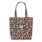 POCKET TOTE BAG-FLOWER
