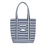 POCKET TOTE BAG-STRIPE