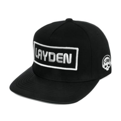 SQUARE LAYDEN SNAPBACK-LEATHER