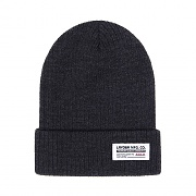 IDENTIFY BEANIE-CHARCOAL HEATHER