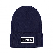 SMALL BOX BEANIE-NAVY