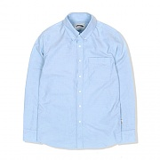 BUTTON DOWN OXFORD SHIRT-LIGHT BLUE