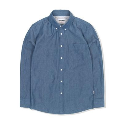 LIGHTWEIGHT DENIM SHIRT-INDIGO