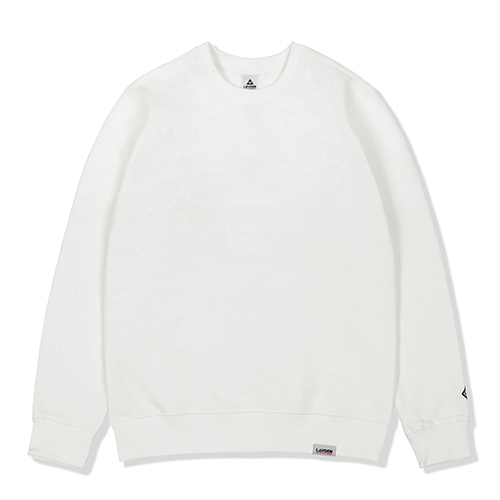 BASIC SWEATSHIRTS-WHITE