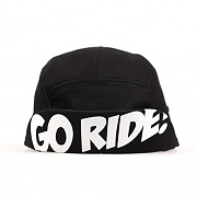 GEEKS CAMP CAP - GO RIDE - BLACK
