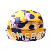 GEEKS CAMP CAP HOMEBOY LEOPARD GLOW-YELLOW