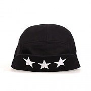 GEEKS CAMP CAP-THREE STARS-BLK