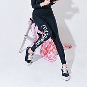 MELTING WATER LEGGINGS-BLACK