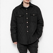 2016 BLACK WIDE QUILTED SHIRTS