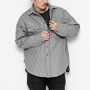 2016 GREY WIDE QUILTED SHIRTS
