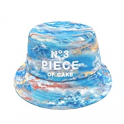 3D PIECE OF CAKE BUCKET HAT (BLUE)