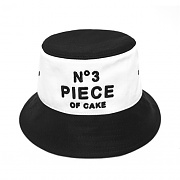 3D PIECE OF CAKE BUCKET HAT (WHT/BLK)