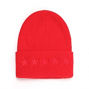 5STAR L BEANIE (RED)