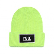 PIECE BOX BEANIE (LIME)