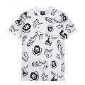 WILD PATTERN T-SHIRT WHITE