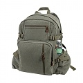 (9262) ROTHCO JUMBO VINTAGE CANVAS BACKPACK-OLIVE DRAB