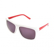 POOLSIDE-WHT/RED ARMS (GREY LENS)