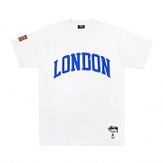 LONDON IST PKT TEE-WHT