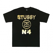 NO. 4 GOLD TEE - BLK