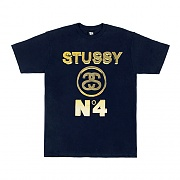 NO. 4 GOLD TEE - NAVY