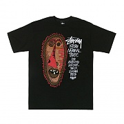 TRIBAL MASK TEE - BLK