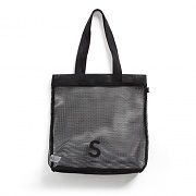 USF S MESH TOTE BAG BLACK