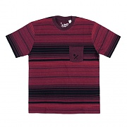STATIC STRIPE SHIRT-RED